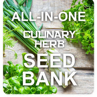 Culinary Herb Garden Seed Bank