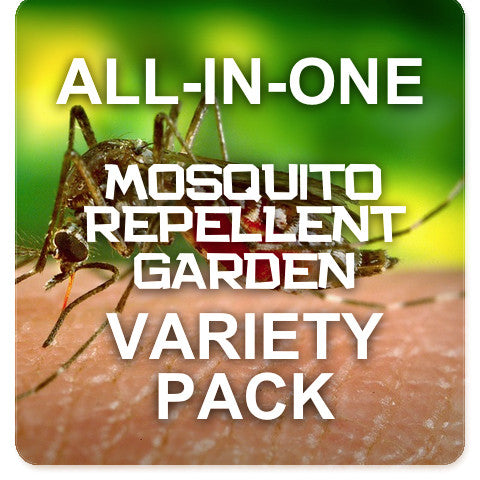 All-in-One Mosquito Repellent Garden Variety Pack