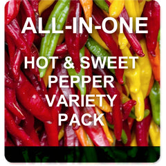 Pepper Garden Variety Pack