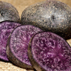 Potato - Purple Majesty (Organic/Heirloom)