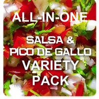 All-in-One Salsa Garden Variety Pack