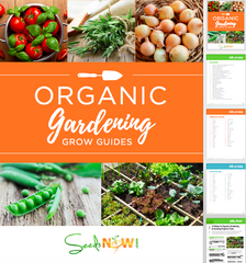 FREE COPY w/ ANY PURCHASE TODAY! // The Complete Guide to Organic Gardening with Grow Guides & Gardening Manual (175 pages)
