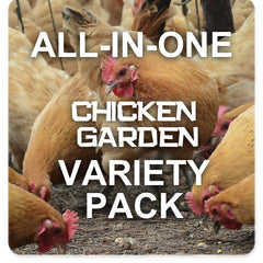 All-in-One Chicken Garden Variety Pack