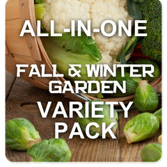 All-in-One Fall & Winter Season Variety Pack