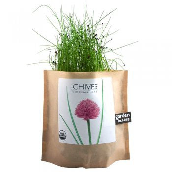 Chives Garden in a Bag