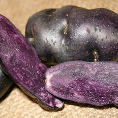 Potato, Fingerling - Purple Peruvian (Organic/Heirloom)