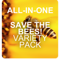 SAVE THE BEES! Garden Variety Pack