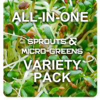 All-in-One Sprouts/Microgreens Variety Pack