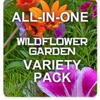 All-in-One Wildflower & Pollinator Scatter Garden Variety Pack