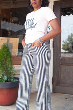 Load image into Gallery viewer, Diane Striped Denim Pant