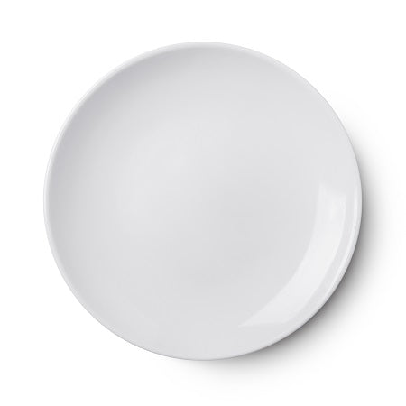 White Porcelain Entrée/Side Plate