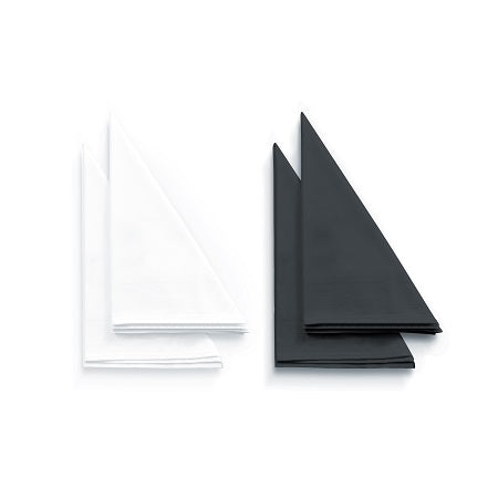 White or Black Napkin Hire