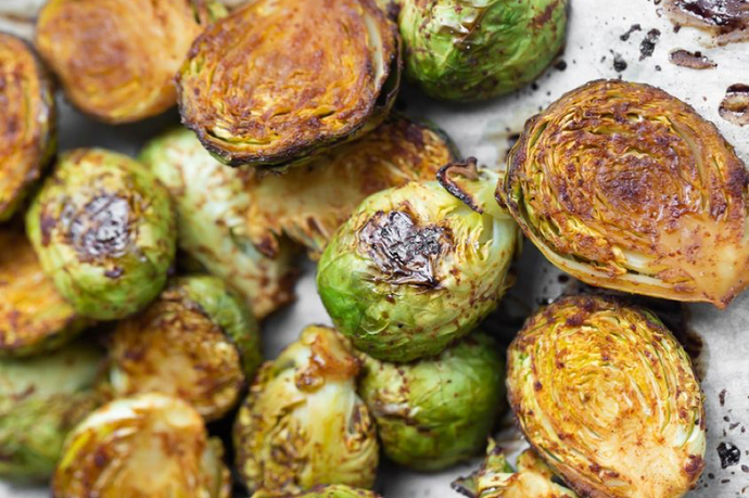 Holiday Menu, Recipe 4 - Crispy Brussel Sprouts