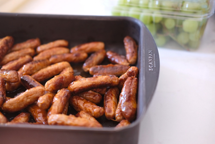 Holiday Menu, Recipe 6 - Marmalade Chipolatas