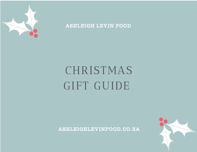 Ashleigh Levin Food – Holiday Gift Guide