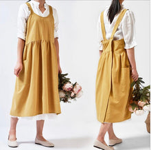 Load image into Gallery viewer, Japanese Linen Aprons