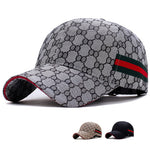 Men's tide visor outdoor sports adjustable pattern baseball cap