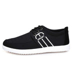 Men's breathable canvas shoes - freakichic