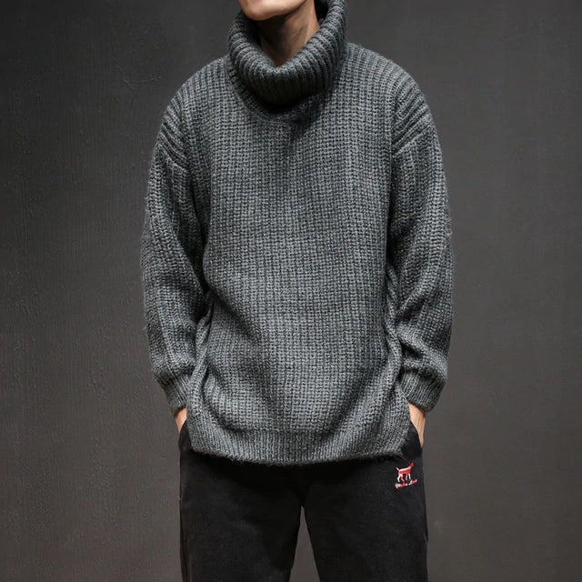 Men Loose Knitted sweaters - freakichic