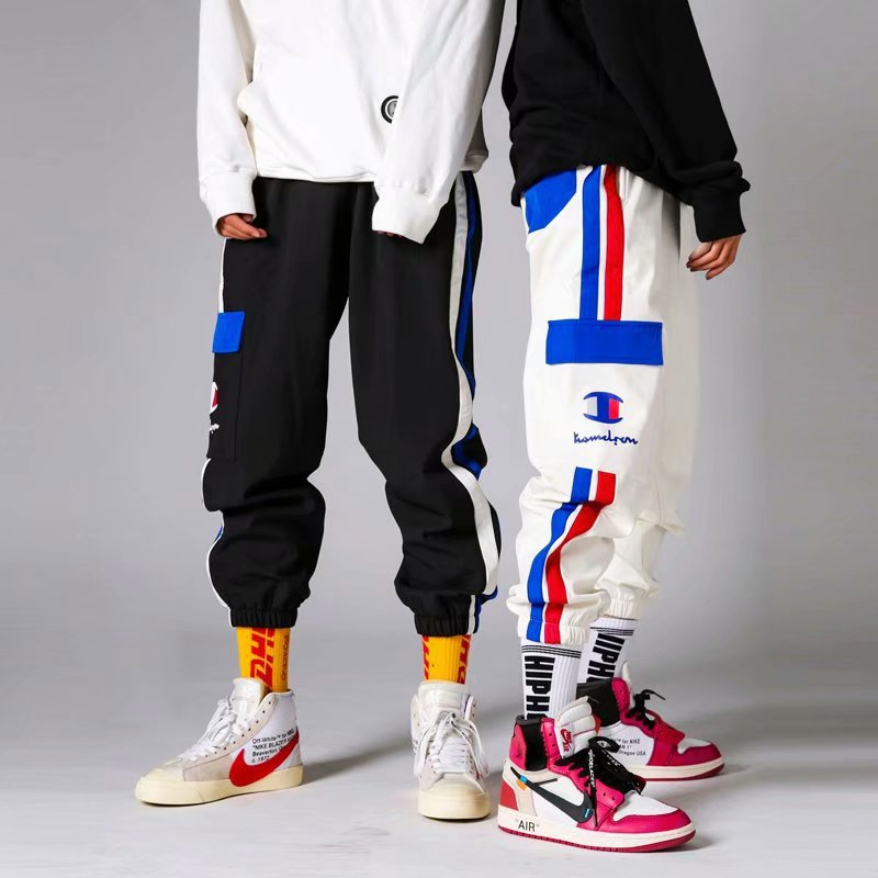 Couple loose retro hip hop casual sweatpants - freakichic