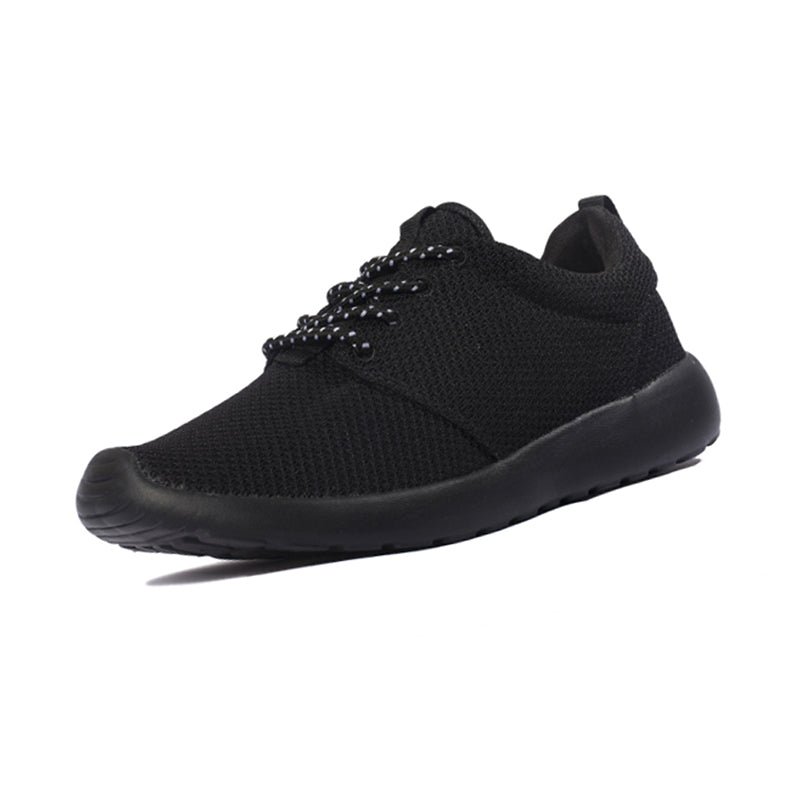 Casual Light Men Lace-up Shoes Breathable Mesh Upper Unisex Footwear - freakichic