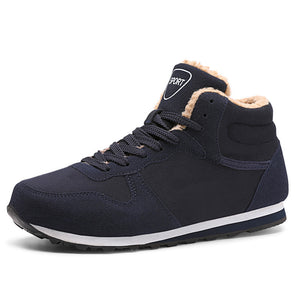 Men Shoes Fur Inside Vulcanize Shoes For Winter - freakichic