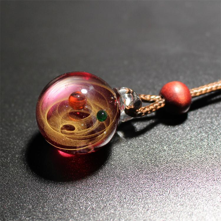 galaxy Ball Necklace - freakichic