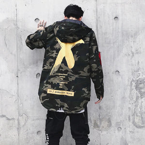 Men Camouflage Jacket - freakichic