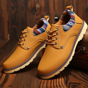 New men's business casual shoes waterproof non-slip shoes