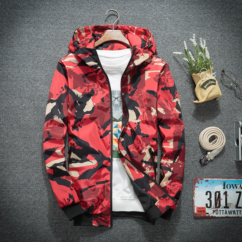 Male floral camouflage jacket - freakichic