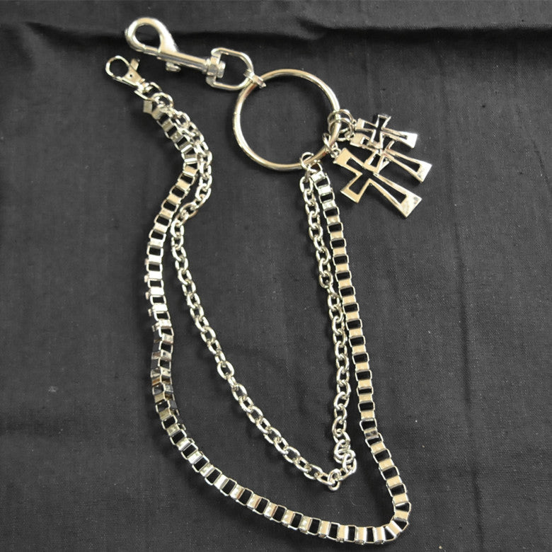 Punk Trouser Long Wallet Key Chain 60-80CM