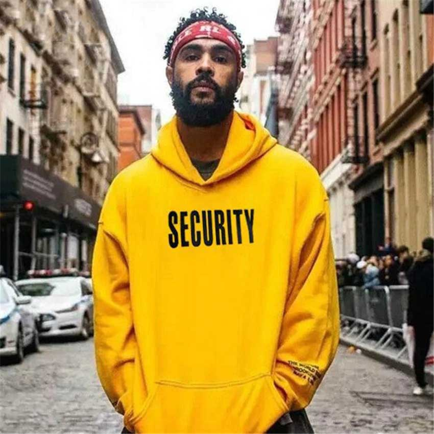 Vfiles Security Print Hoodies