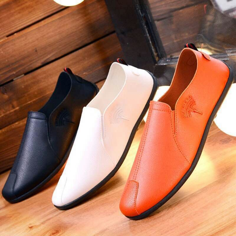 2019 spring new men's PU peas shoes - freakichic