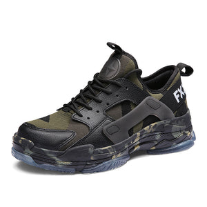 Men's large code camouflage casual shoes
