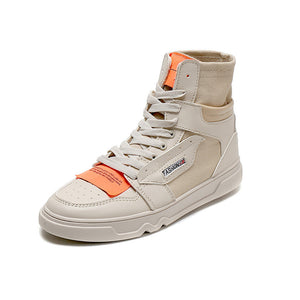 High Tops Men's Vulcanized Canvas Shoes - freakichic