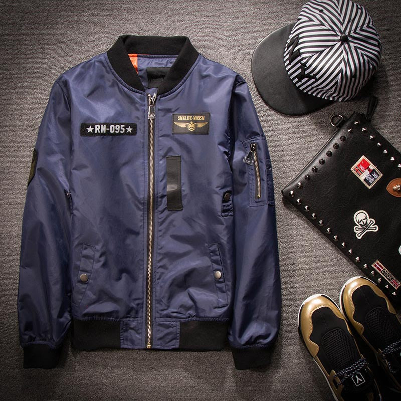 The Mile Fly Military Airforce Men Bomber Jacktets