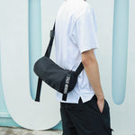 New men's shoulder bag hip hop simple waterproof crossbody bag