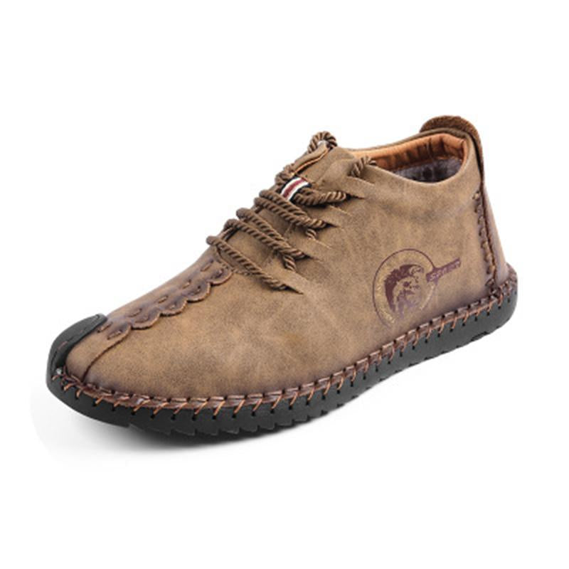 Quality Leather Shoes Split Leather Men Shoes Moccasins Shoes