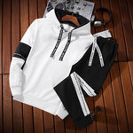 2019 new men's sweater sports suit - freakichic