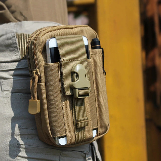 Tactical Molle Pouch Belt Waist Pack Bag