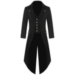 Men's fashion steampunk retro tuxedo men's uniform - freakichic
