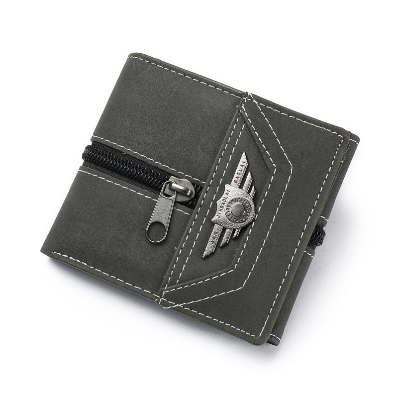 Small designer brief wallet for men