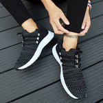 2019 New Breathable Fashion Men Lace-up High Quality Wear-resistant  Sneakers - freakichic