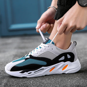 kanye fashion west mesh light breathable men casual shoes - freakichic