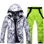 Men Ski Suit Super Warm Clothing - freakichic