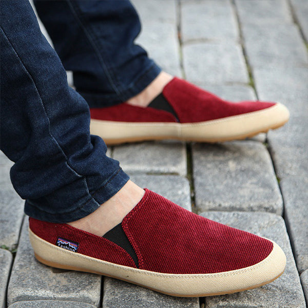 Men's Casual Shoes Summer New Men Shoes One-legged Shoes British Fashion Trend Embroidery Casual Shoes