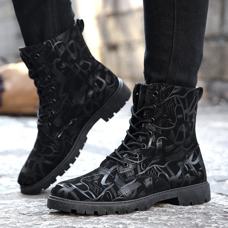 2019 spring new fashion Korean version of Martin boots - freakichic