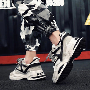 Men Vintage Casual Shoes Sneakers - freakichic