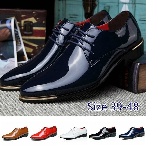 Vintage British men's business casual shoes