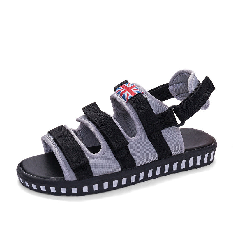 2019 new beach shoes men's sandals two sandals - freakichic
